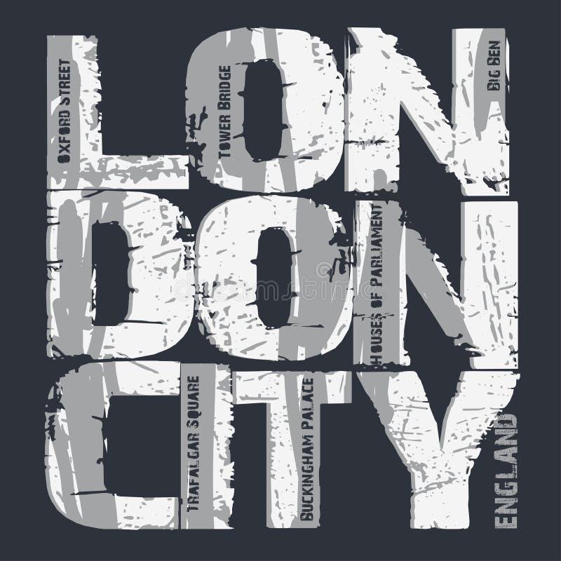 Дизайн оформления города Лондона иллюстрация штока