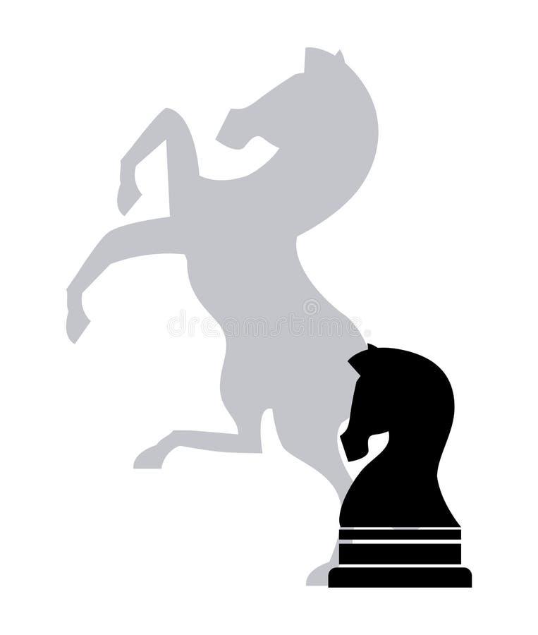 Дизайн лошади иллюстрация штока