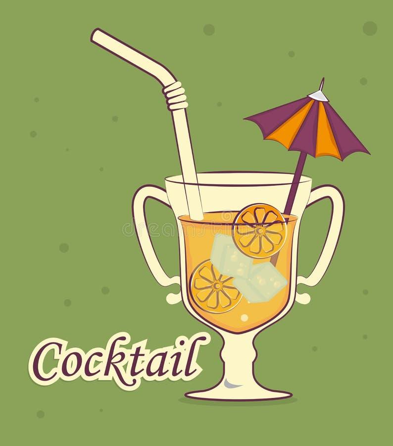 Дизайн питья бесплатная иллюстрация