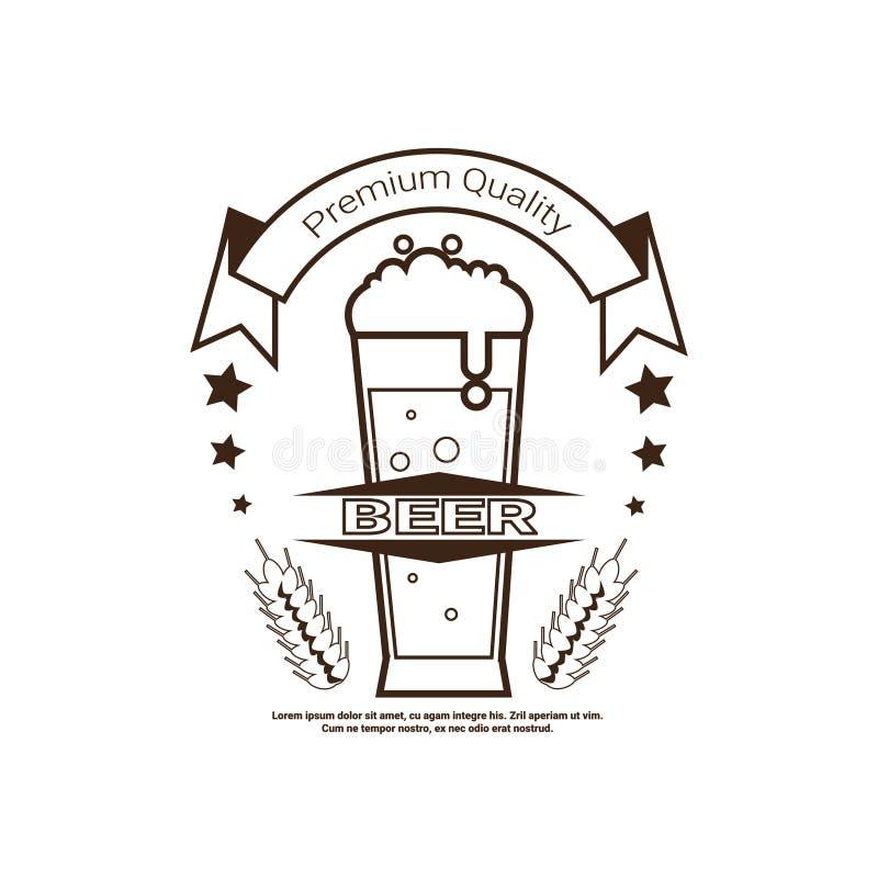Дизайн плакатов украшения праздника логотипа фестиваля пива Oktoberfest бесплатная иллюстрация