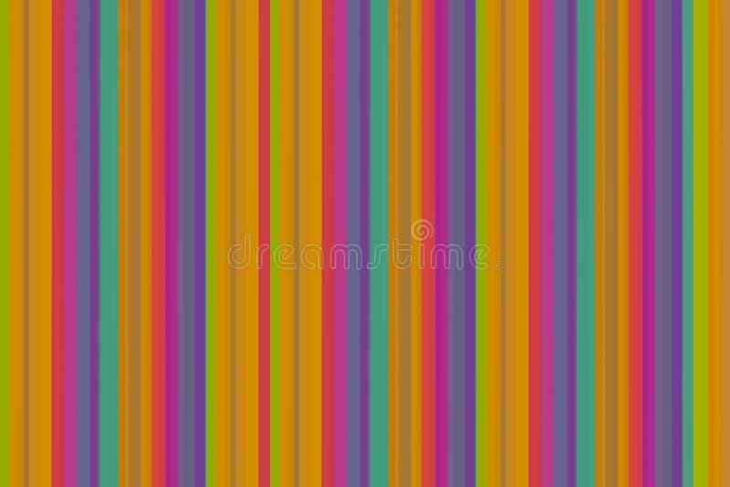 Дизайн предпосылки геометрической параллели сирени нашивок картины яркой малиновой оранжевой симметричный сравнивая ретро бесплатная иллюстрация