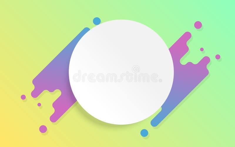 Дизайн предпосылки конспекта летчика Futurism с космосом экземпляра Красочная яркая и жизнерадостная картина иллюстрации вектора  бесплатная иллюстрация