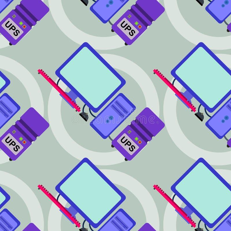 Download Дизайн предпосылки бесперебойного электропитания безшовный Иллюстрация штока - иллюстрации насчитывающей сила, безшовно: 40592080