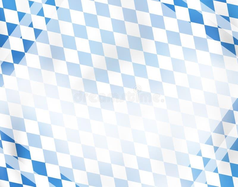 Дизайн предпосылки Glosssy Баварии иллюстрация вектора