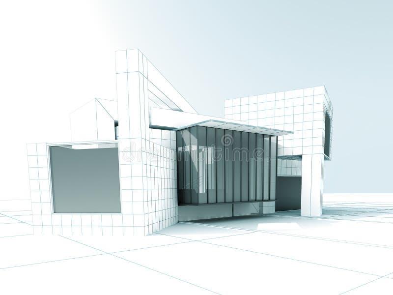 Дизайн проекта архитектуры бесплатная иллюстрация