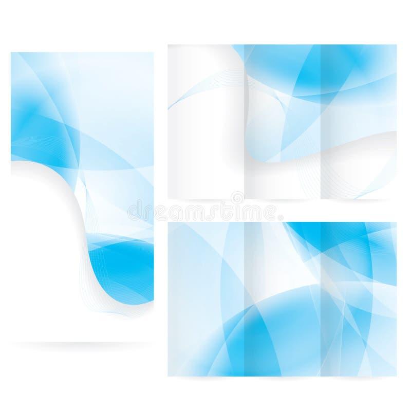 Дизайн плана брошюры вектора иллюстрация вектора
