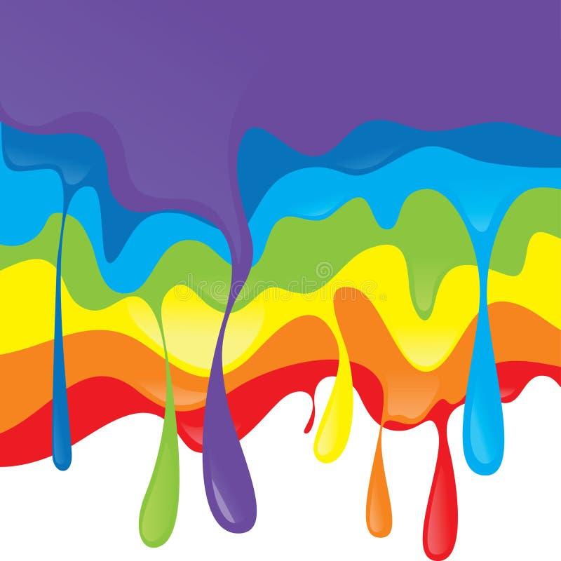 Дизайн радуги иллюстрация вектора