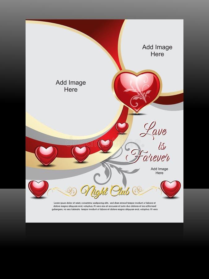 Дизайн рогульки влюбленности вектора бесплатная иллюстрация