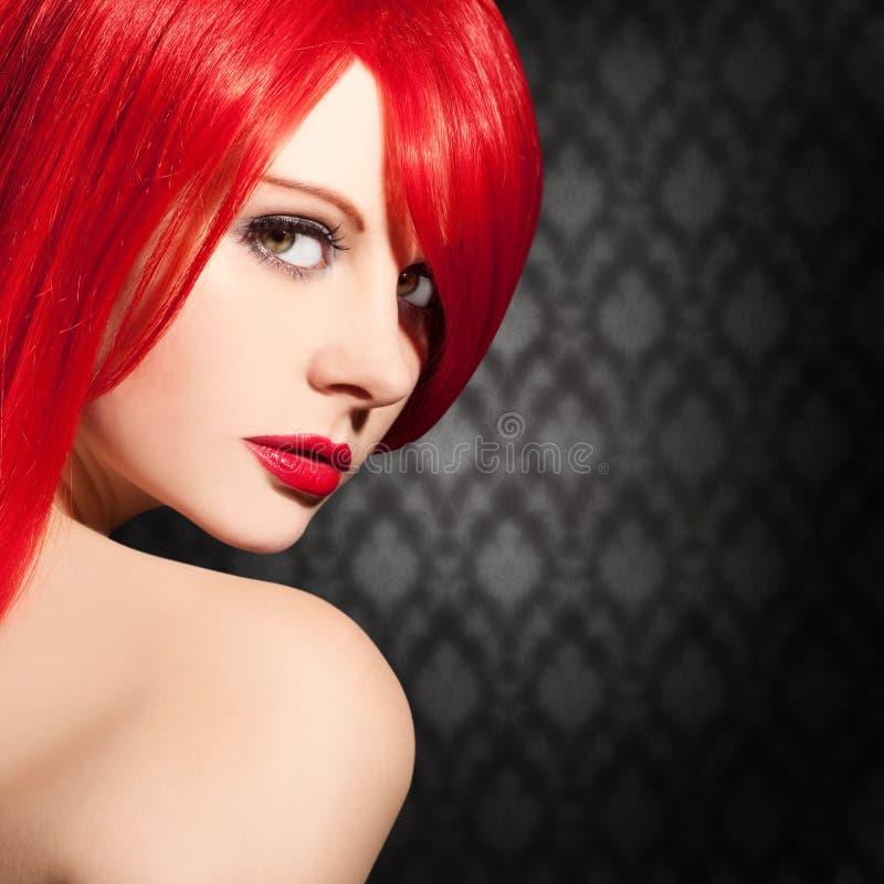 Дизайн рогульки красивой, элегантной женщины стоковая фотография rf