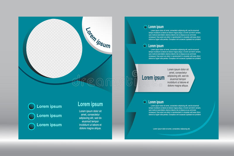 Download Дизайн рогульки, предпосылка шаблона брошюры Иллюстрация вектора - иллюстрации насчитывающей green, представление: 81809782