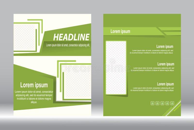 Download Дизайн рогульки, предпосылка шаблона брошюры Иллюстрация вектора - иллюстрации насчитывающей backhoe, рапорт: 81809800