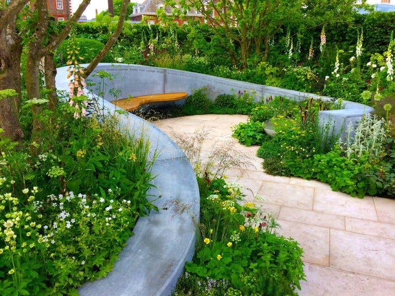 Дизайн сада стоковые фото
