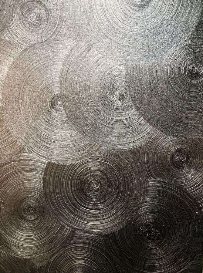 Дизайн стены в форме кругов стоковые фото