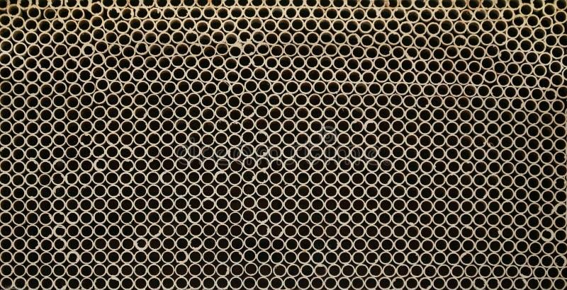 Дизайн стены tubules стоковая фотография