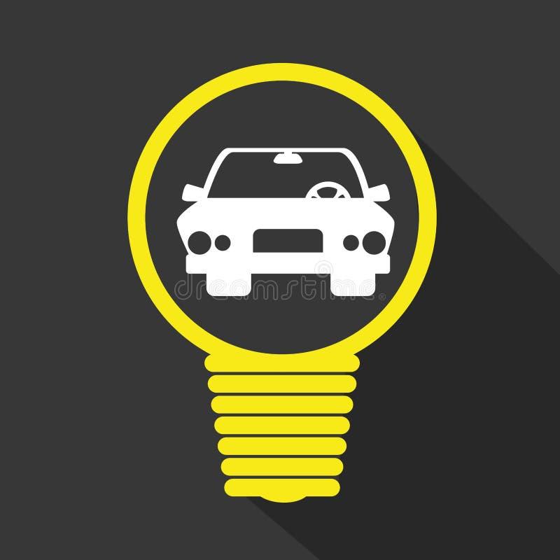 Дизайн темы транспортного средства иллюстрация вектора