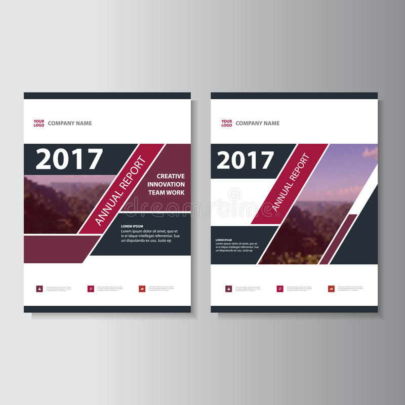 Дизайн фиолетовых черных минимальных элементов Infographic шаблонов представления плоский установил для рекламы маркетинга листов иллюстрация вектора