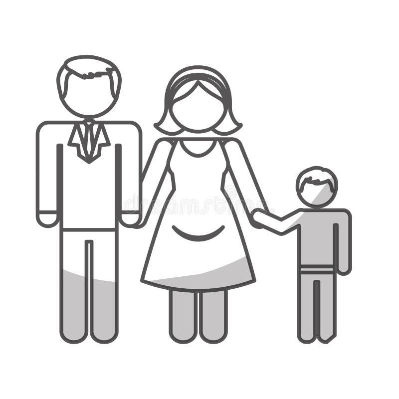 Download Дизайн членов семьи иллюстрация вектора. иллюстрации насчитывающей конструкция - 81801187