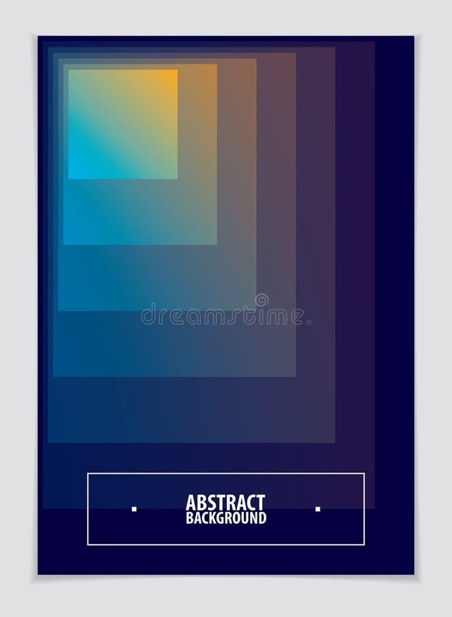 Дизайн шаблона дизайна брошюры минимальный Современное геометрическое Abstra иллюстрация штока