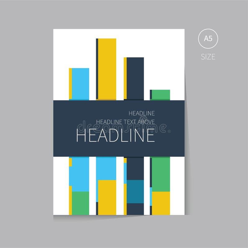 Дизайн шаблона брошюры вектора иллюстрация вектора