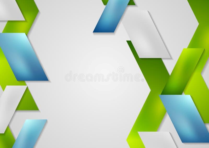 Дизайн шаблона брошюры яркого техника геометрический иллюстрация штока