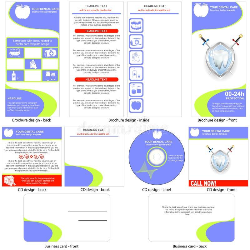Дизайн шаблона зубоврачебной заботы