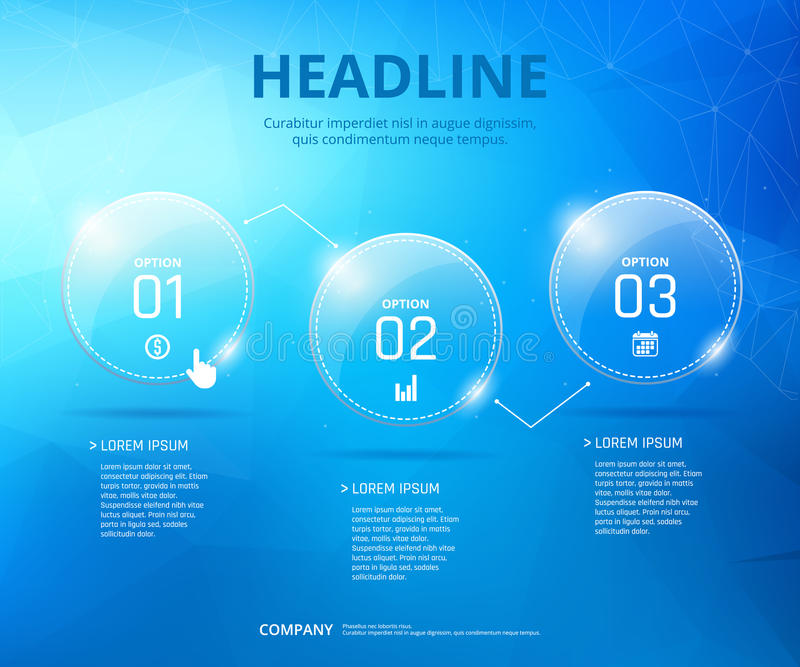 Дизайн шага Infographic иллюстрация вектора