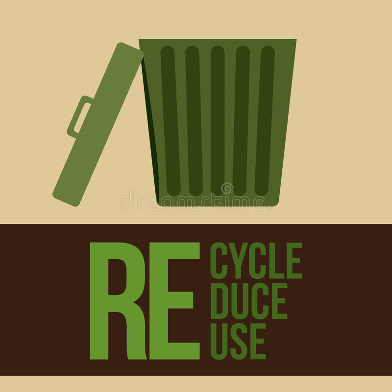 Дизайн экологичности бесплатная иллюстрация