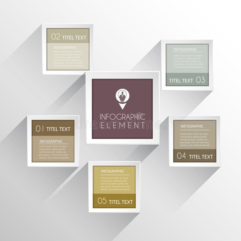 Дизайн Infographic рамки современный бесплатная иллюстрация