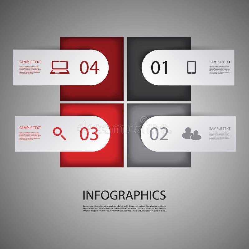 Дизайн Infographic иллюстрация штока