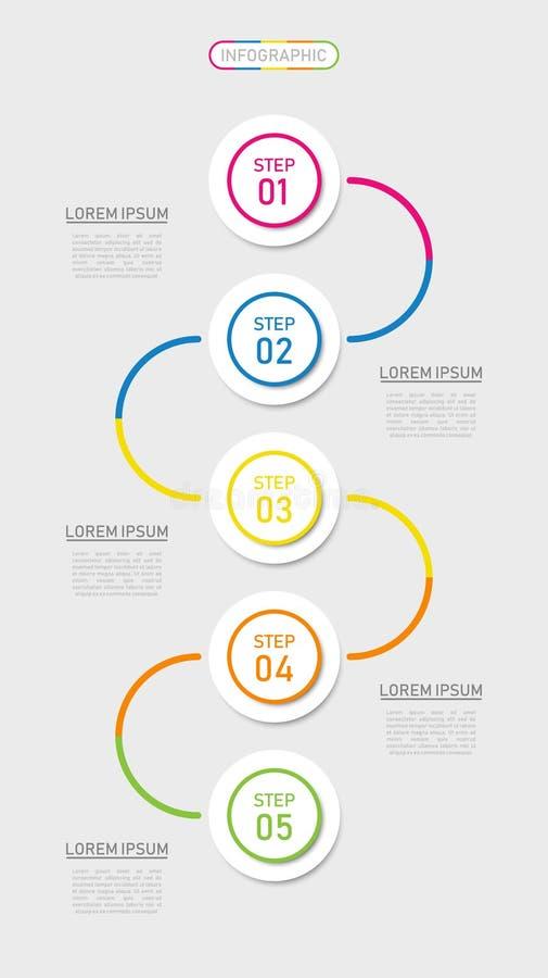 Дизайн infographics срока, для любого случая иллюстрация штока