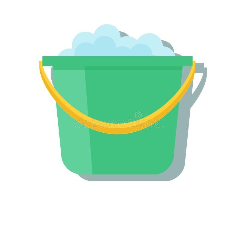 Дизайн ui знака логотипа сети app шаржа вектора значка ведра бесплатная иллюстрация
