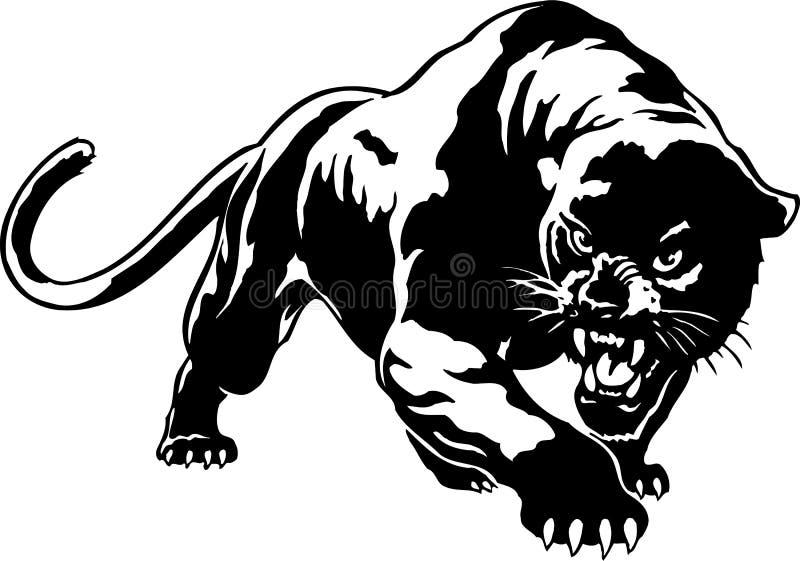 Дикая иллюстрация пантеры бесплатная иллюстрация