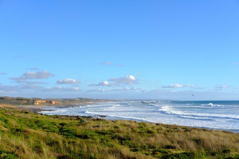 Дикое португальское побережье стоковые фотографии rf