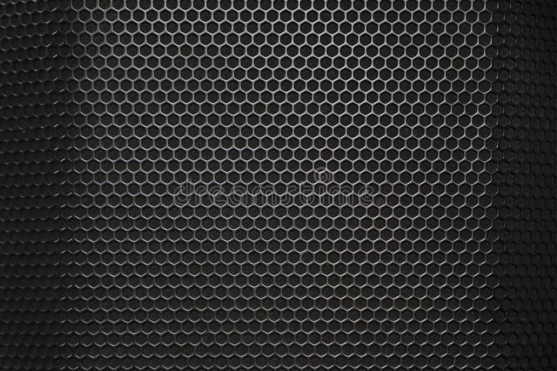 Дикторы текстура музыки, конец вверх стоковое изображение rf