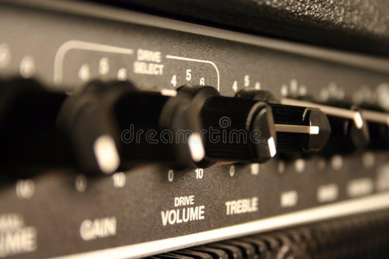 диктор гитары 01 amp стоковое фото