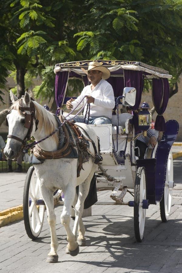 Дилижанс в Гвадалахара стоковое фото rf
