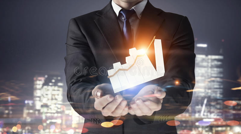 Download Динамика продаж рынка Мультимедиа Стоковое Фото - изображение насчитывающей средства, график: 81808020