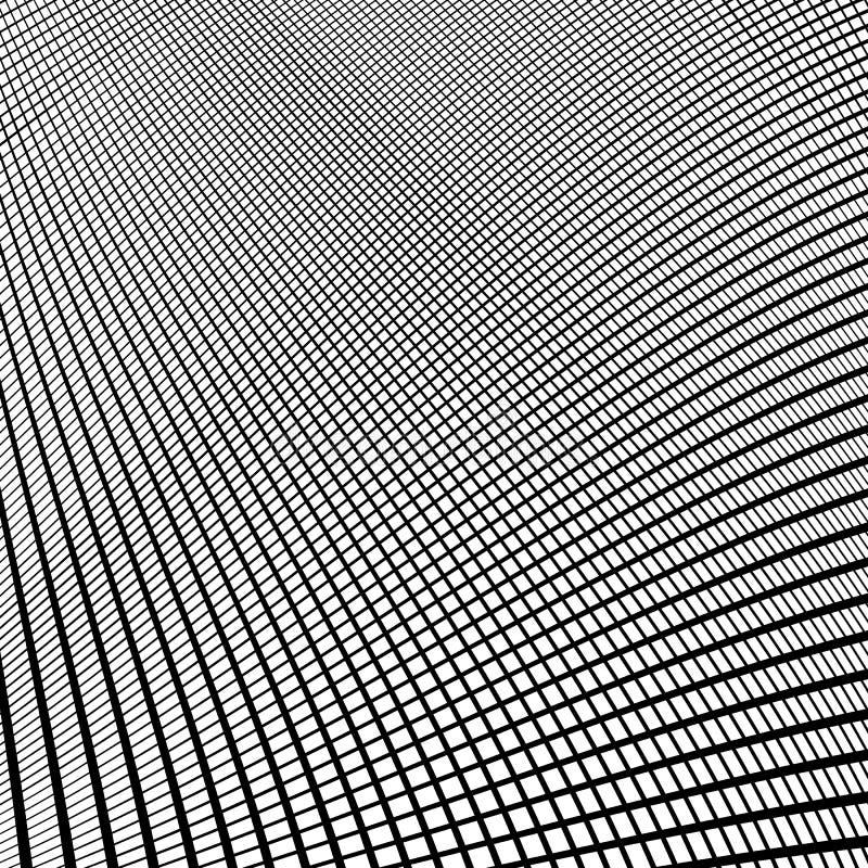 Download Динамические линии решетка Monochrome геометрическая картина, абстрактное Textu Иллюстрация вектора - иллюстрации насчитывающей свободно, беспорядок: 81802651