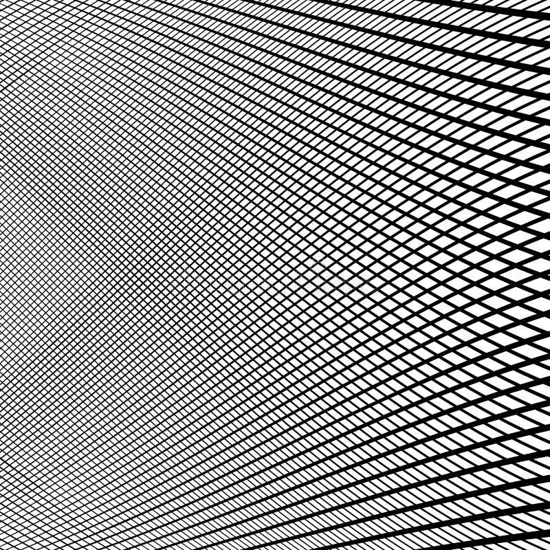 Download Динамические линии решетка Monochrome геометрическая картина, абстрактное Textu Иллюстрация вектора - иллюстрации насчитывающей сетка, картина: 81802695