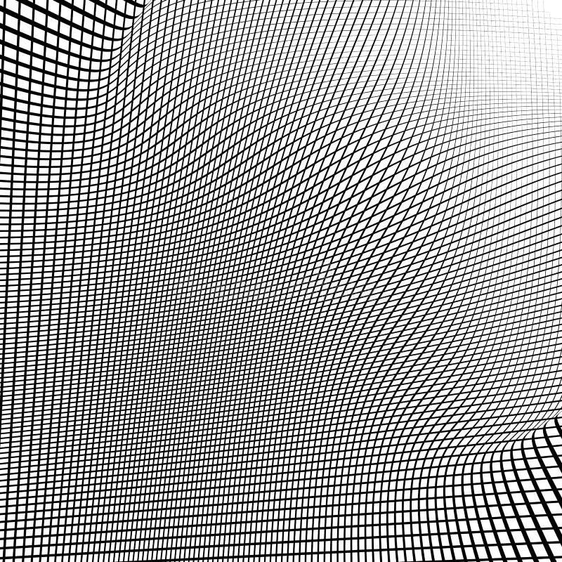Download Динамические линии решетка Monochrome геометрическая картина, абстрактное Textu Иллюстрация вектора - иллюстрации насчитывающей динамически, беспорядок: 81802842