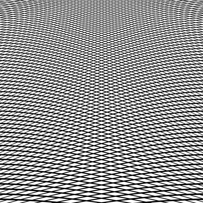 Download Динамические линии решетка Monochrome геометрическая картина, абстрактное Textu Иллюстрация вектора - иллюстрации насчитывающей динамизм, творческо: 81804304