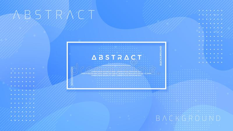 Динамический текстурированный дизайн предпосылки в стиле 3D с голубым цветом вектор предпосылки eps10 иллюстрация вектора