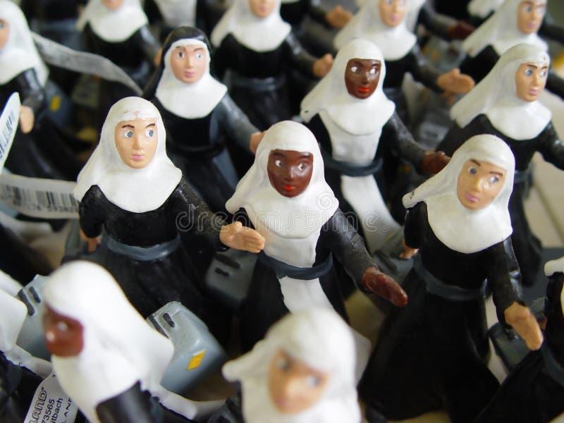 динамически монахини стоковая фотография rf