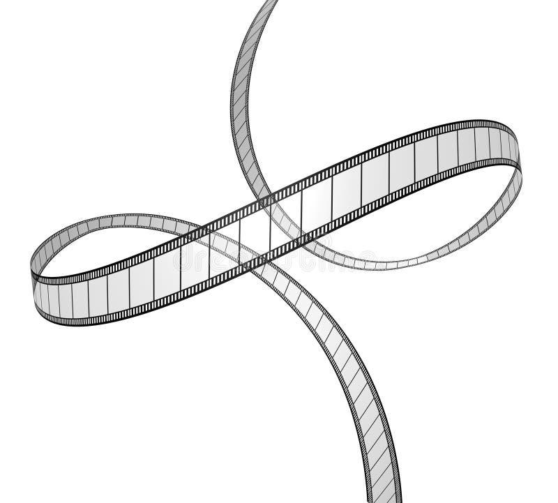 динамически перспектива пленки иллюстрация штока