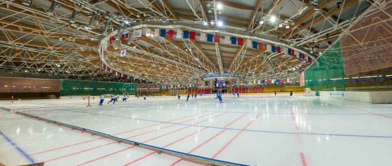Динамомашина дворца спорт в Krylatskoye стоковые изображения