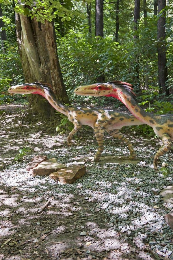 динозавры малые 2 стоковые изображения rf