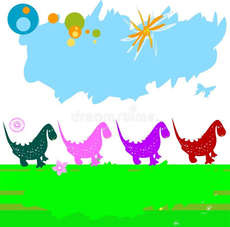 динозавры бесплатная иллюстрация