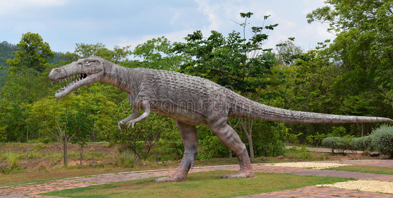 Динозавр крокодила стоковые фотографии rf