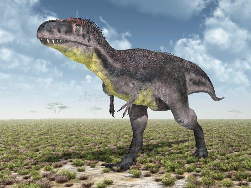 Фото с динозавром