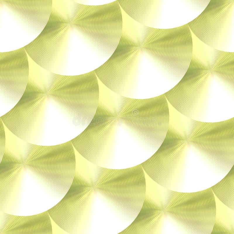 диски золотистые иллюстрация штока